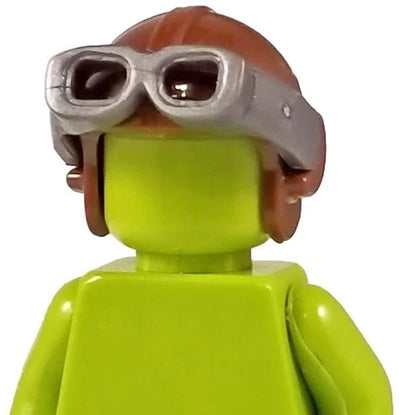 Minifig Aviator Cap Brown - Headgear