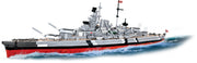 COBI World War II German Battleship Bismarck (2030 Pieces) - Ships