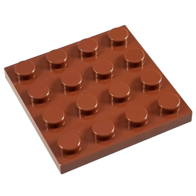4x4 Base Reddish Brown - Baseplate