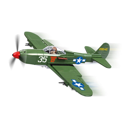 COBI World War II Bell P-39 Airacobra (240 Pieces) - Airplanes