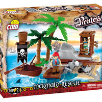 COBI Pirates Mermaid Rescue (140 Pieces) - Buildings