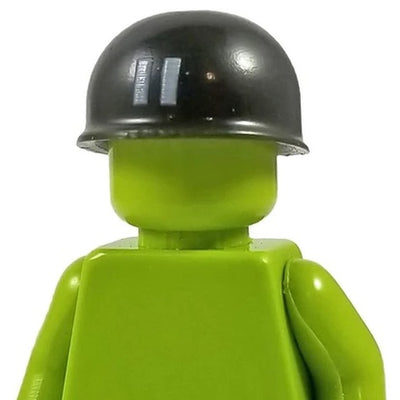 Minifig World War II American Captain Helmet - Headgear