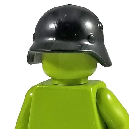 Minifig World War I Black German Helmet - Headgear