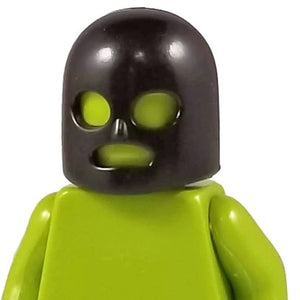 Minifig 3 Hole Mask Black - Headgear