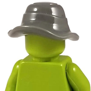 Minifig Floppy Grey Boonie Hat - Headgear