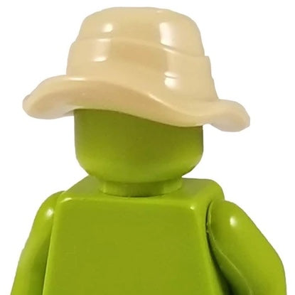 Minifig Floppy Tan Boonie Hat - Headgear