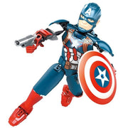 Brick Capt America Figure (42 Pieces) - Sets