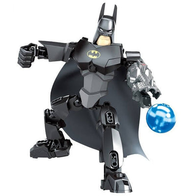 Brick Dark Knight Bat Figure (35 Pieces) - Buildable Figure