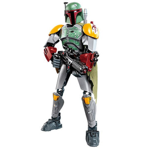 Brick Bounty Hunter Boba Figure (144 Pieces) - Sets