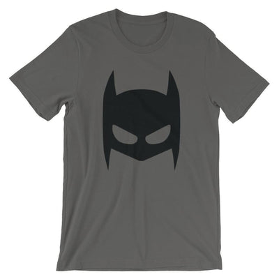 Brick Forces Bat Mask Short-Sleeve Unisex T-Shirt - Asphalt / S
