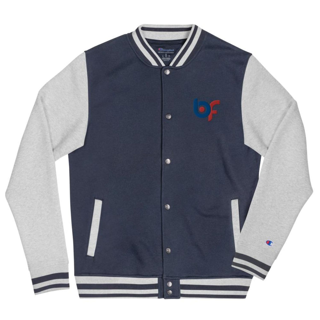 Brick Forces Embroidered Champion Bomber Jacket - S - Printful Clothing