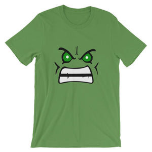 Brick Forces Green Face Short-Sleeve Unisex T-Shirt - Leaf / S