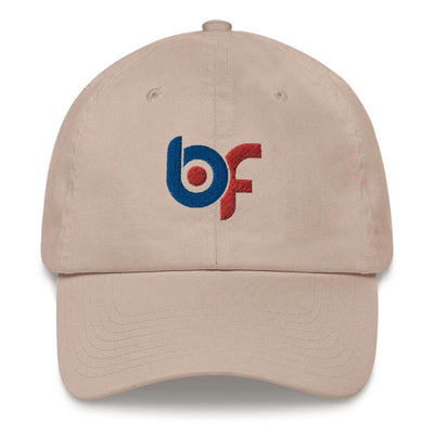 Brick Forces Logo Dad hat - Stone - Printful Clothing
