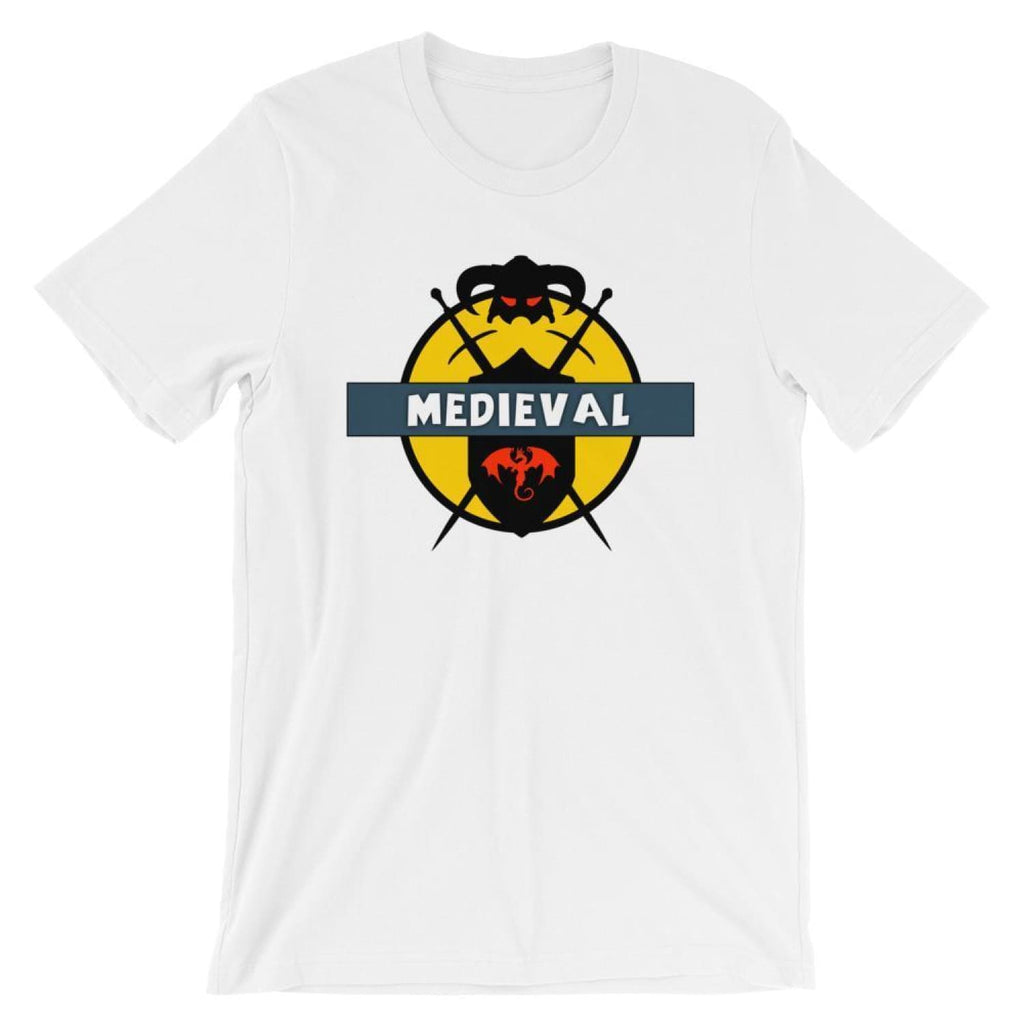 Brick Forces Medieval Short-Sleeve Unisex T-Shirt - White / XS