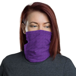 Brick Forces Purple Brick Neck Gaiter - Printful Clothing