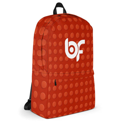 Brick Forces Red Brick Backpack - Printful Clothing