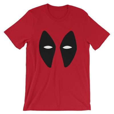 Brick Forces Red Hunter Face Short-Sleeve Unisex T-Shirt - S