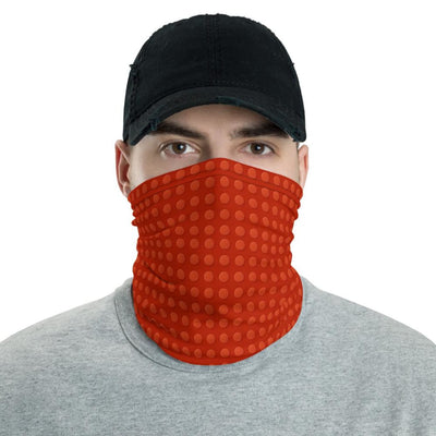 Brick Forces Red Brick Neck Gaiter - Printful Clothing
