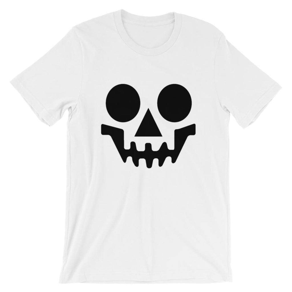 Brick Forces Skeleton Short-Sleeve Unisex T-Shirt - White / XS