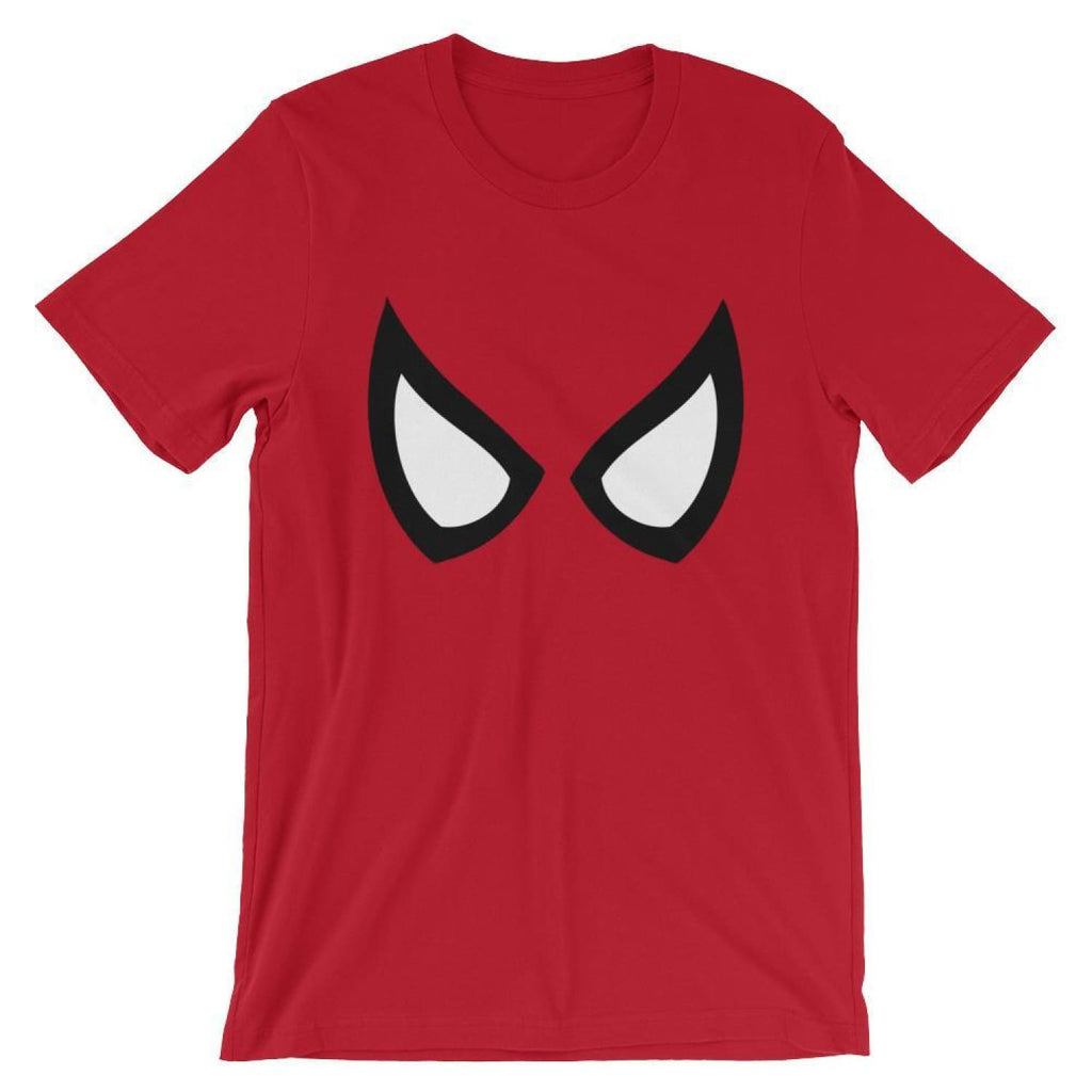 Brick Forces Spider Eyes Short-Sleeve Unisex T-Shirt - Red / S
