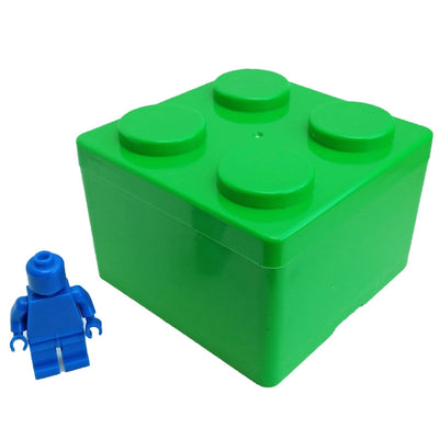 Brick Small Stackable Storage Box - Green - Storage