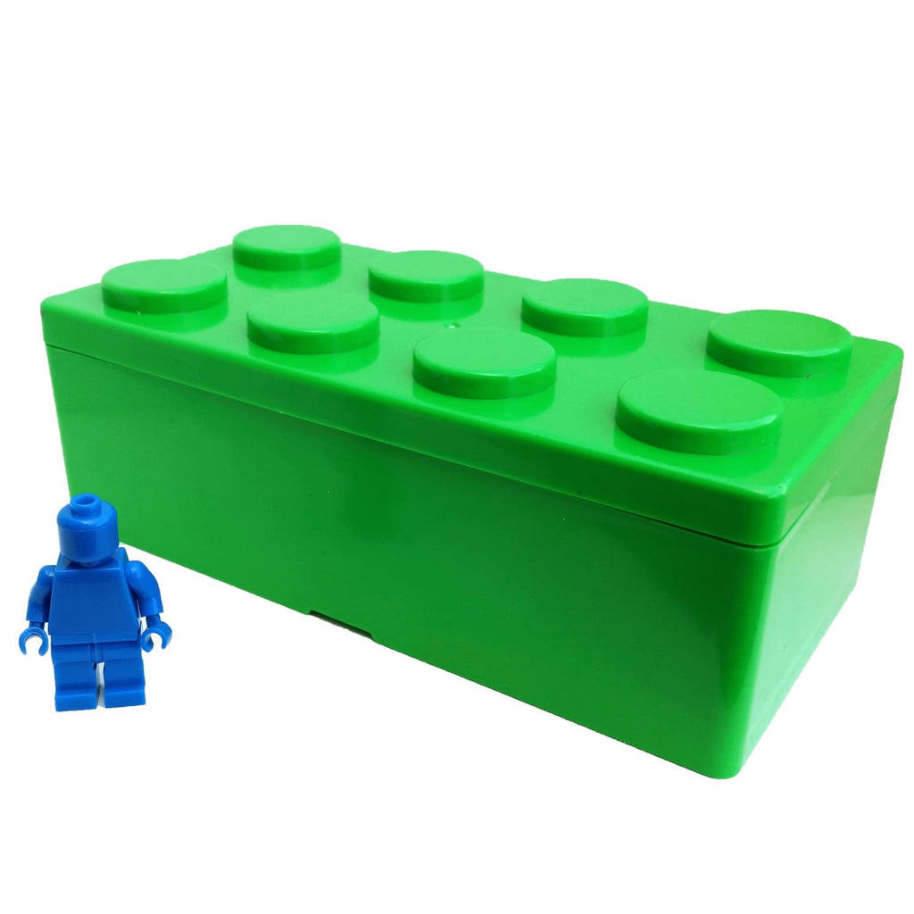 Brick Stackable Large Storage Box - Green - Storage