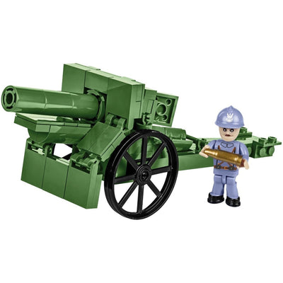 COBI 155 mm Field Howitzer 1917 (122 Pieces) - Dioramas