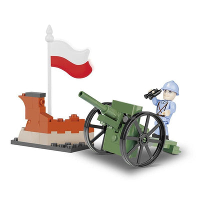 COBI 75 mm Field Gun 1897 (61 Pieces) - Artillery