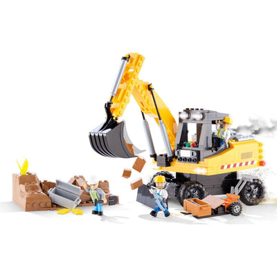 COBI Construction Works (350 Pieces) - Vehicles