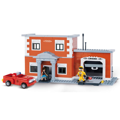 COBI Engine 13 Fire Station Set (330 Pieces) - Buildings