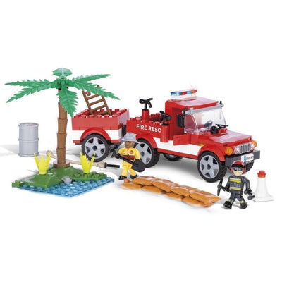 COBI Fire Rescue Team (200 Pieces) - Vehicles