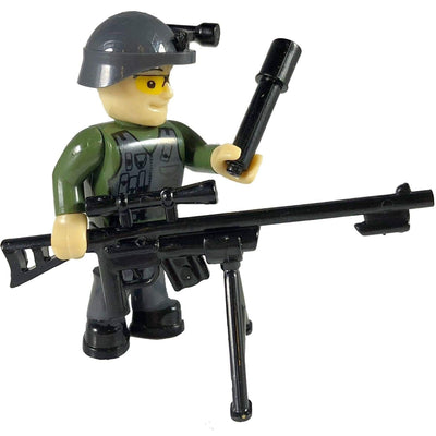 COBI Minifig Army Green Sniper - Minifigs