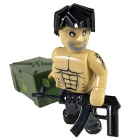 COBI Minifig Guerrilla Fighter and Crate - Minifigs