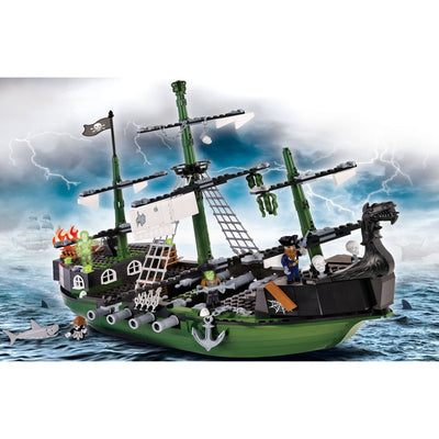 COBI Pirate Ghost Ship Set (520 Pieces) - Ships