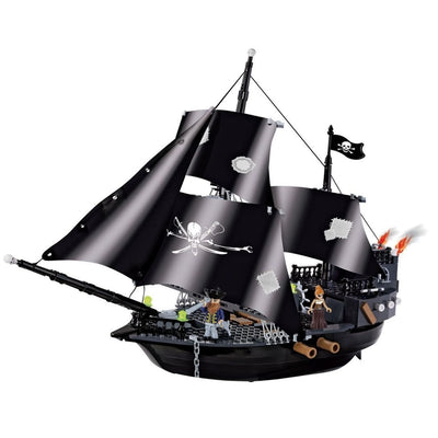 COBI Pirate Ship Set (400 Pieces) - Ships