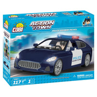 COBI Police Highway Patrol Vehicle (117 Pieces) - Vehicles