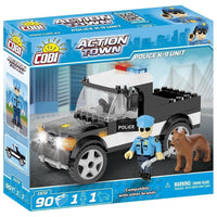 COBI Police K-9 Unit Set (90 Pieces) - Vehicles