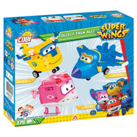 COBI Super Wings Jett (175 Pieces) - Airplanes