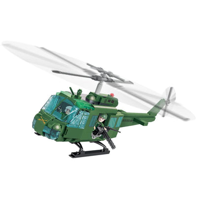 COBI Vietnam War Air Cavalry Huey (405 Pieces) - Helicopters
