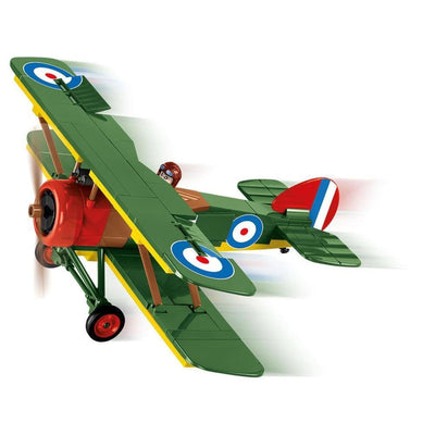 COBI World War I Sopwith F.1 Camel Biplane (170 Pieces) - Airplanes