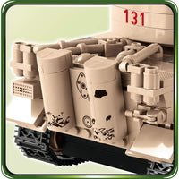 COBI Minifig World War II Afrika Korps Tiger 1 131 (550 Pieces) - Tanks