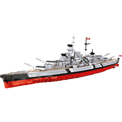 COBI World War II German Battleship Bismarck (1952 Pieces) - Ships