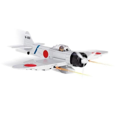 COBI World War II Mitsubishi A6M2 ZERO-SEN (250 Pieces) - Airplanes