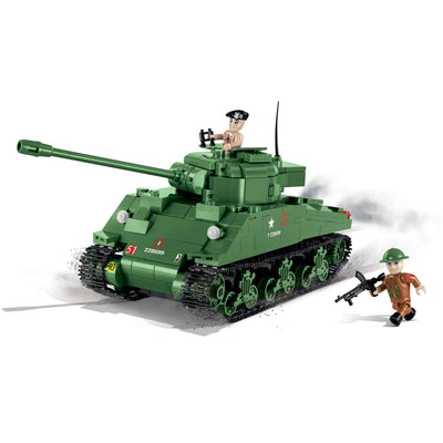 COBI World War II Sherman Firefly (500Pieces) - Tanks