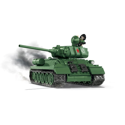COBI World War II Soviet T-34/85 Tank (400 Pieces) - Tanks