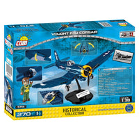 COBI World War II Vought F4U Corsair (270Pieces) - Airplanes