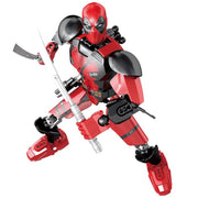 Brick Deadpool Figure (69 Pieces) - Sets