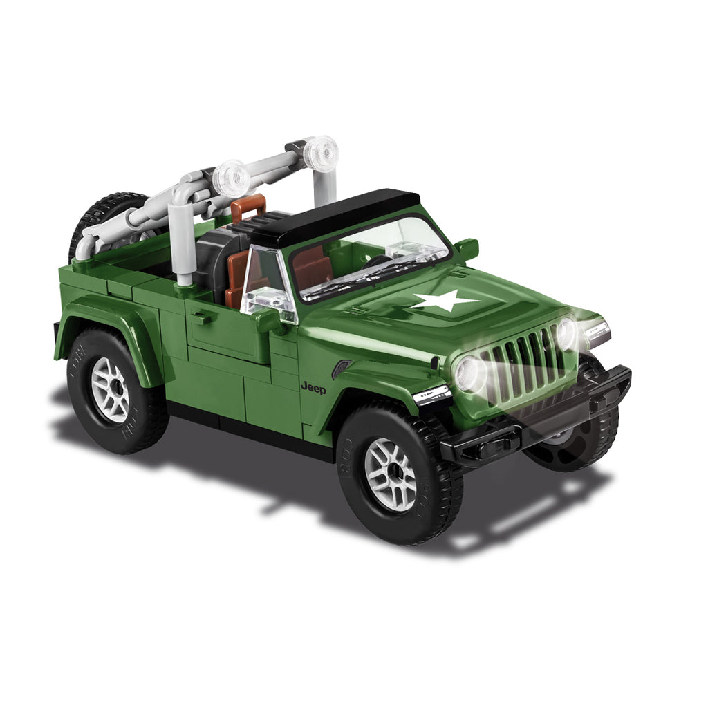 COBI Minifig Jeep Wrangler Military (98 Pieces) - Vehicles