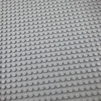 Minifig 16*16 Dots THICKER Building Block Baseplates - Light Grey - Baseplate
