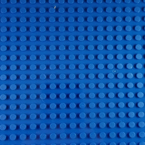Minifig 16*32 Dots Building Block Baseplates - Blue - Baseplate